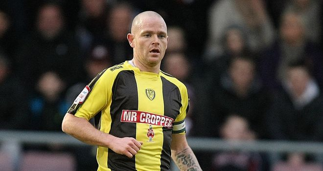 John McGrath: On-loan from Burton