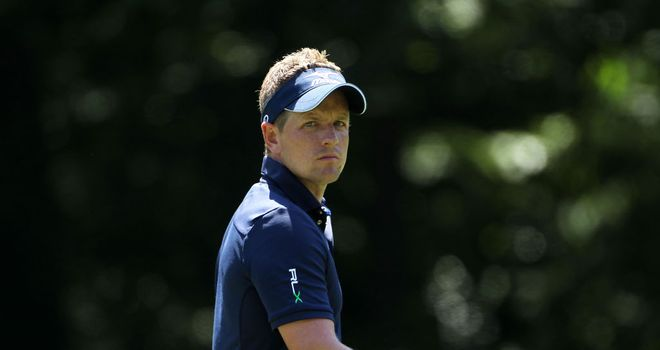 Luke Donald: closing 68 means he will leave with some positive feelings
