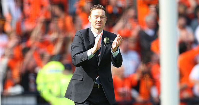 Derek Adams: Ross County manager starts life in the SPL against Motherwell