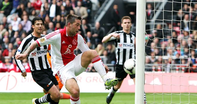 Theo Janssen: The midfielder has one year left on his contract in Amsterdam