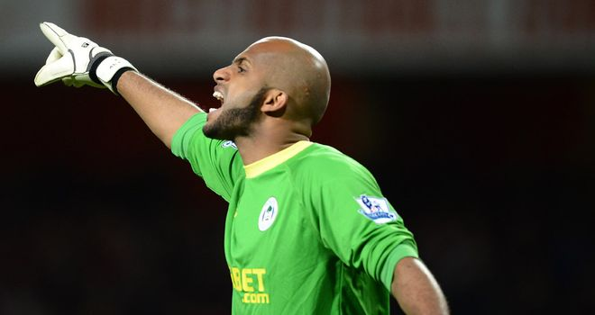 Ali Al Habsi: Ready to stop Newcastle in their tracks