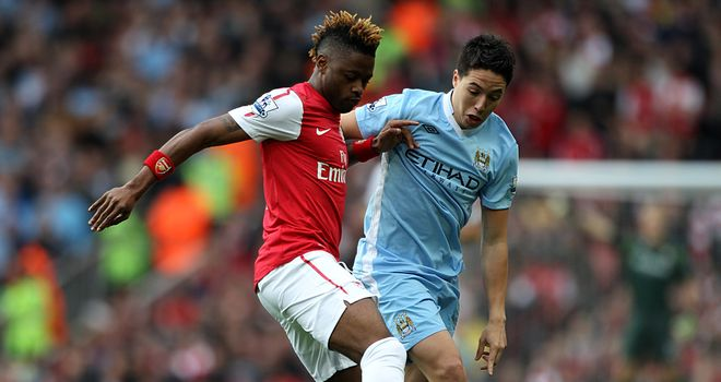 Samir Nasri: Confident Manchester City will taste success before his former employers at Arsenal