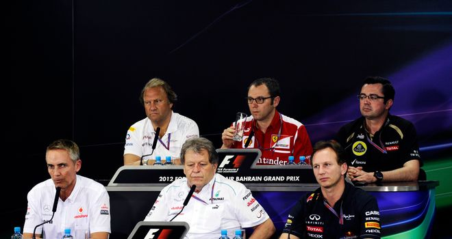 Team bosses say they are comfortable with situation in Bahrain