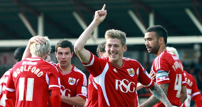 Jon Stead: At the double for Bristol City