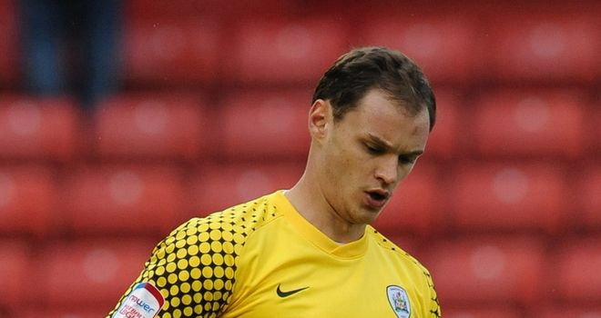 David Button: Has penned a two-year contract with Championship new boys Charlton