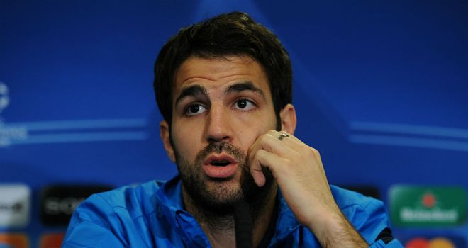 Cesc Fabregas: Struggling for playing time this season