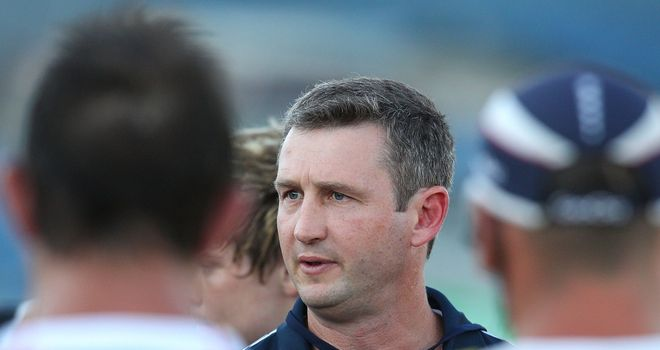 Melbourne head coach Damien Hill: has added Tom Sexton to his squad