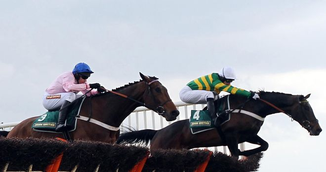 Darlan and Captain Conan: Both heading to Cheltenham