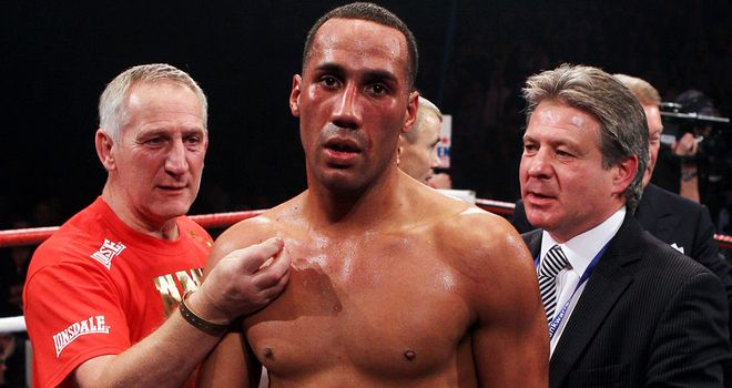 James DeGale: Back in the ring and setting sights on Carl Froch