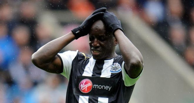 Demba Ba: Has been linked with a host of clubs this summer