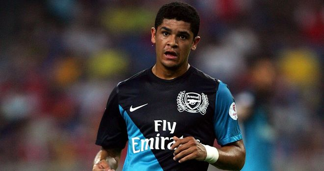Denilson: Arsenal midfielder admits he would be keen to stay with Sao Paulo