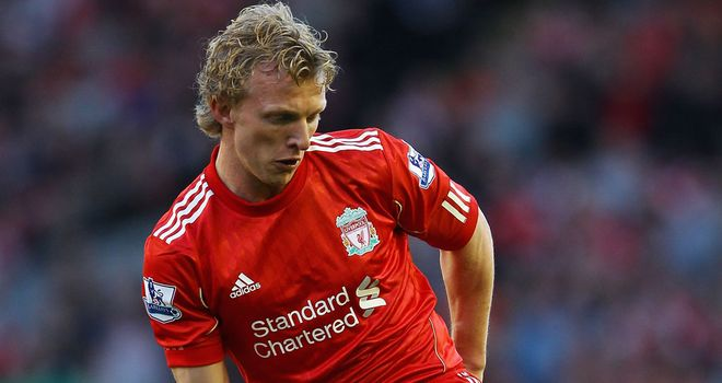 Dirk Kuyt: Has been linked with a move to the Bundesliga with Hamburg