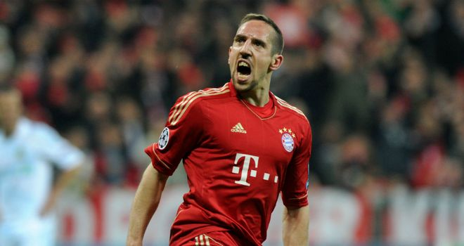 Franck Ribery: French midfielder tipped to bring Bayern glory