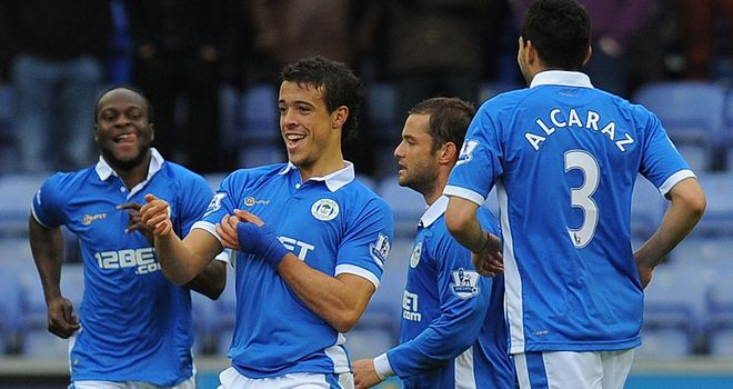 Franco Di Santo: The Wigan striker has spent the summer planning new dance moves to celebrate his goals