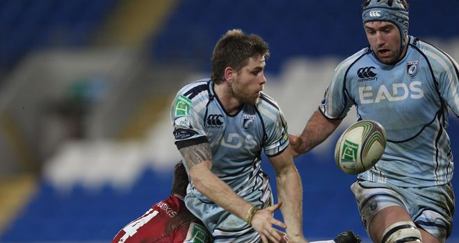 Gavin Evans: Delighted to have extended his stay with the Cardiff Blues for another two seasons