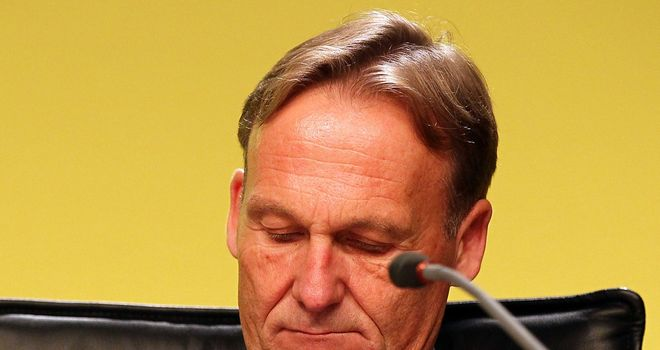 Hans-Joachim Watzke: Has taken a shot at City&#39;s overseas owners