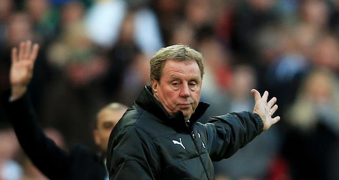 Harry Redknapp: Fumes at refereeing decision