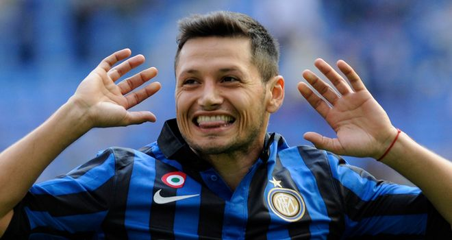 Mauro Zarate: Being linked with moves to Arsenal, Liverpool and Stoke