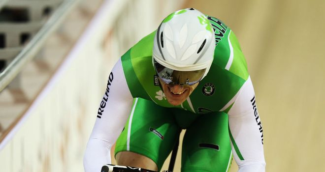 Martyn Irvine: The Irishman qualified for the men's omnium event at the Olympic Games.