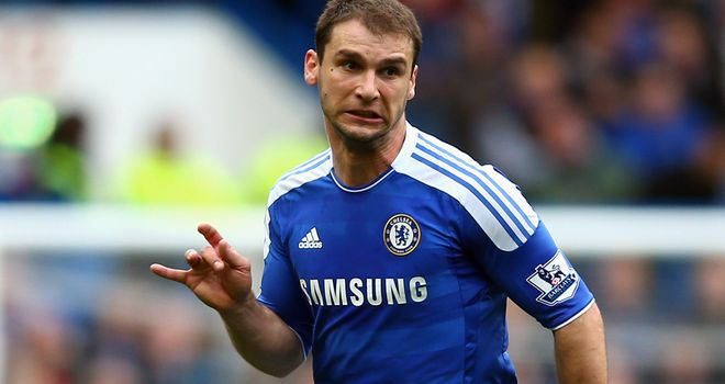 Branislav Ivanovic: Found it tough to sit and watch Chelsea's famous victory