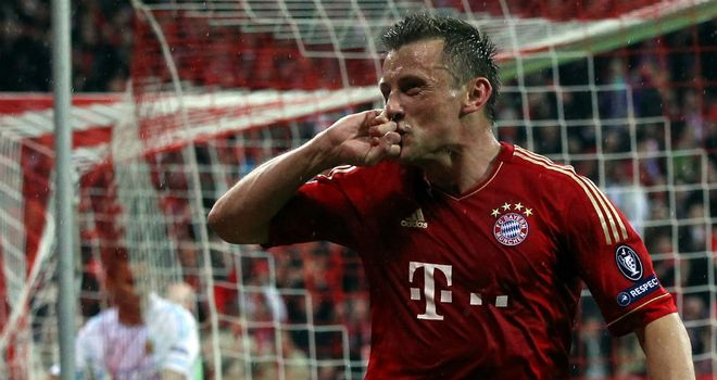 Ivica Olic: The Bayern Munich forward is an injury doubt for Croatia