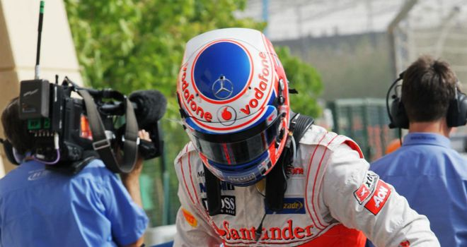 Jenson Button: Was not downhearted after taking fourth place in qualifying