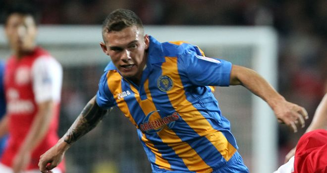 Taylor: the wide man is now flourishing at Shrewsbury
