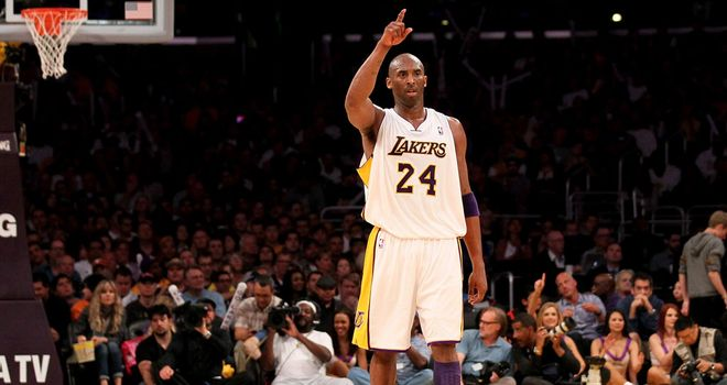Kobe Bryant: denies talk of a rift with team-mate Dwight Howard