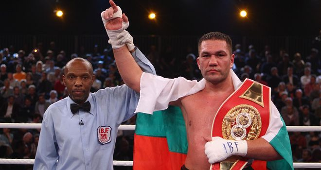 Kubrat Pulev: Could be one step away from challenging Wladimir Klitschko