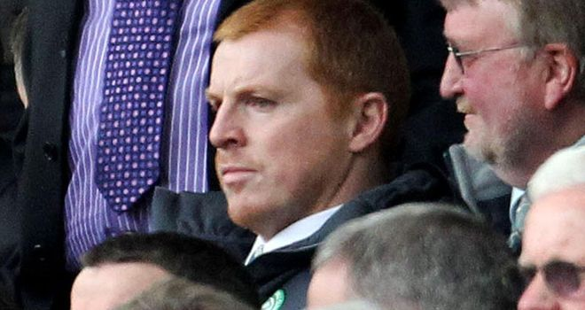 Neil Lennon: Faces an anxious wait over fitness of Commons and Stokes