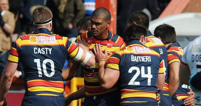 Leon Pryce: impressed for the Dragons after opting to continue his career in France