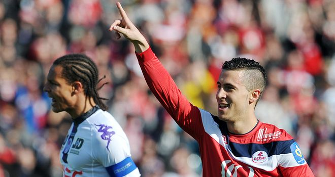 Eden Hazard: Lille star admired by Sir Alex Ferguson