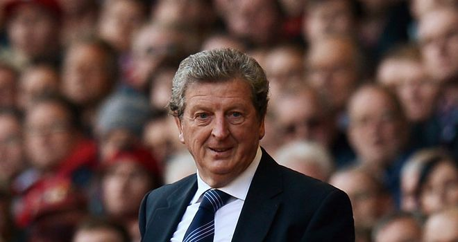 Roy Hodgson: Arrived at Wembley for talks with the Football Association