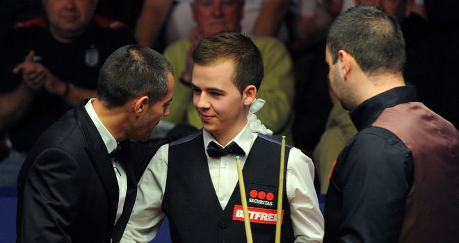 Luca Brecel (C): Was defeated in first round by Stephen Maguire (R)