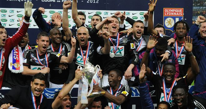 Lyon lift Coupe de France after slender 1-0 win against brave Quevilly