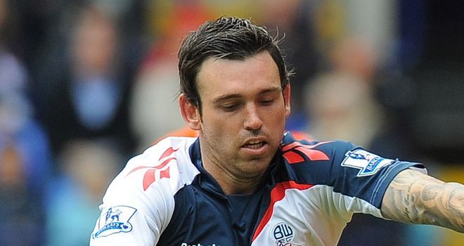 Mark Davies: Linked with a move elsewhere but Owen Coyle says he will stay at Bolton