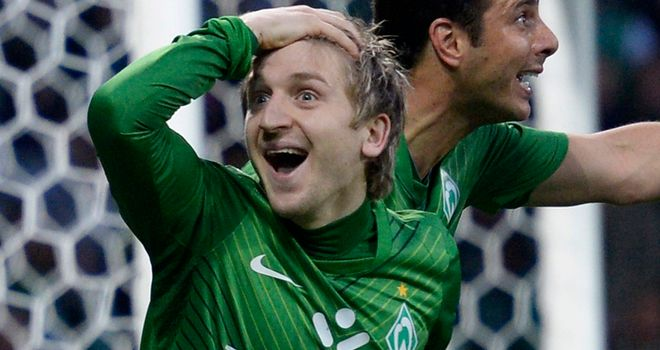 Marko Marin: Set to move to Chelsea in the summer after a deal was agreed with Werder Bremen