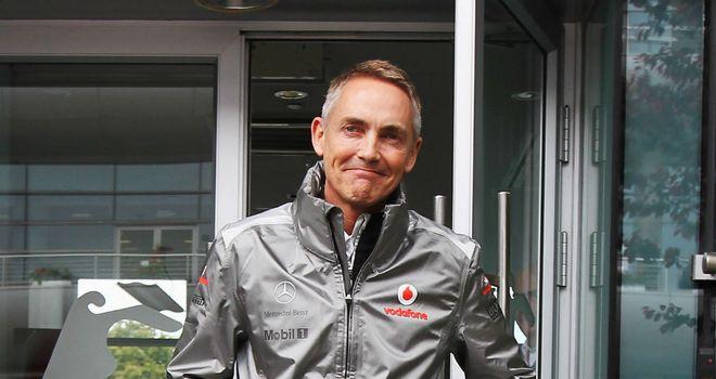 Мартин Уитмарш, McLaren
