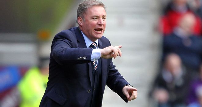 Ally McCoist: Not happy with the SFA's decision to enforce a transfer ban