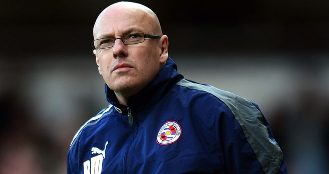 Brian McDermott: Could lead Reading to the top of the Championship with a win at St Mary's