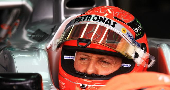 Michael Schumacher: His comments surprised Pirelli's director of motorsport