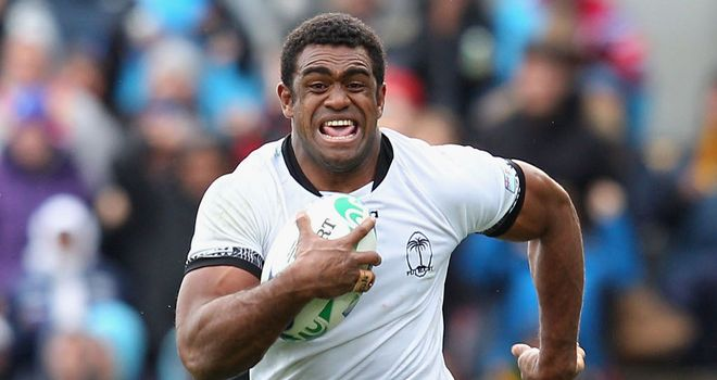 Napolioni Nalaga: Force keen to use Fijian's attacking abilities