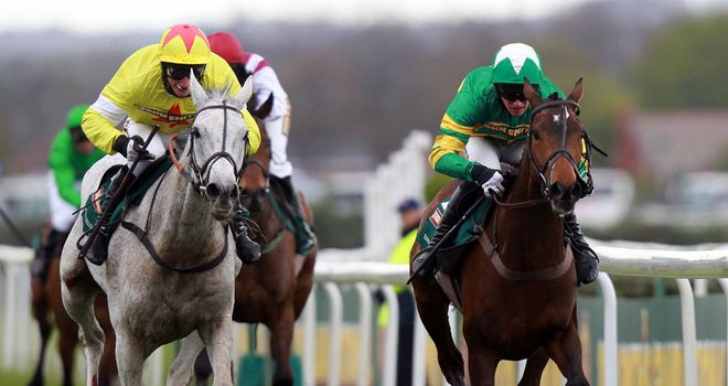 Sunnyhillboy (right) could feature in the Gold Cup