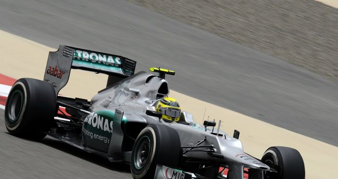 Nico Rosberg: Was quickest in final practice in Bahrain