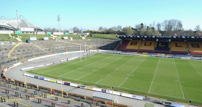 Bradford Bulls: No bids for the club's playing personnel