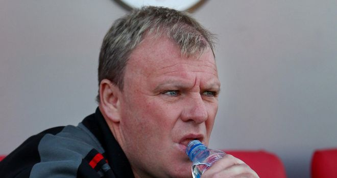 Steve Evans: Wants one more striker on board