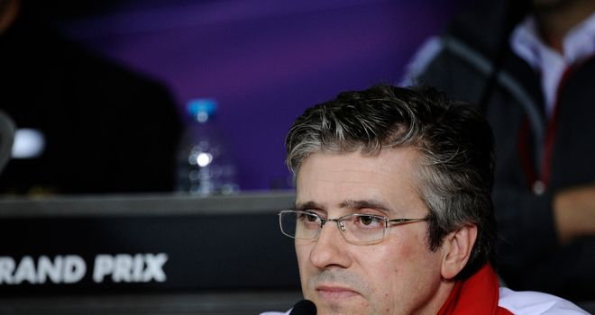 Pat Fry: Says Ferrari's problems are not limited just to their car