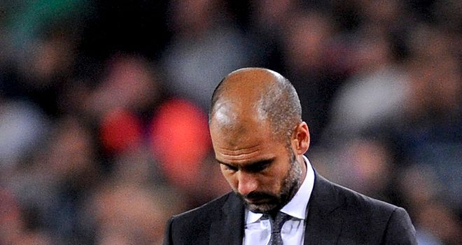 Pep Guardiola: Stepping down in the summer following four years in charge