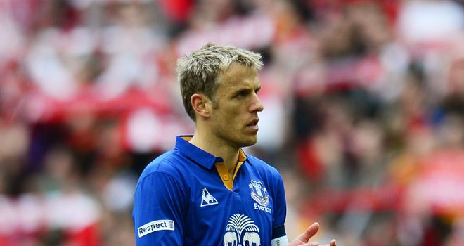 Phil Neville: Says Everton must aim to improve and challenge for trophies