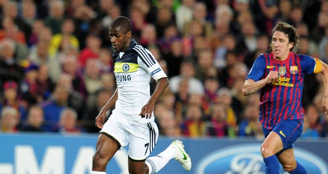 Ramires: Ruled out of the Champions League final after suspension appeal rejected